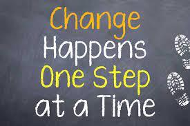 Make one change